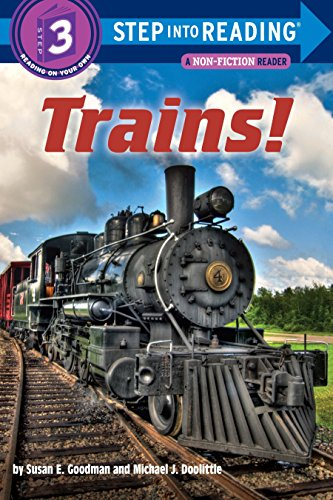 (Trains! (Step into Reading))