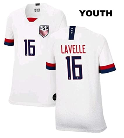 detailed look 3b473 01f3d Amazon.com : ZZXYSY Rose Lavelle #16 2019 Women's World Cup ...