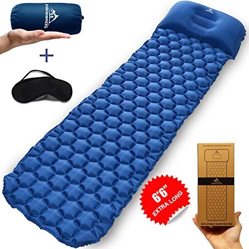 HIKEBROS Ultralight Sleeping Pad Inflatable Camping Mat Air