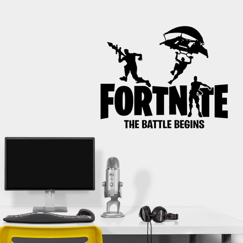 Suuyar Juegos Battle Royale Logo Ps4 Teen Boy Room Decal ...