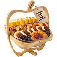 Oh! Nuts Christmas Gift Baskets Healthy No Sugar Added Huge Assortment of Dried Fruit Gourmet Holiday Family Party Gifts Vegan All Natural Prime Delivery Food Snacks for Fathers Day, Men, & Women