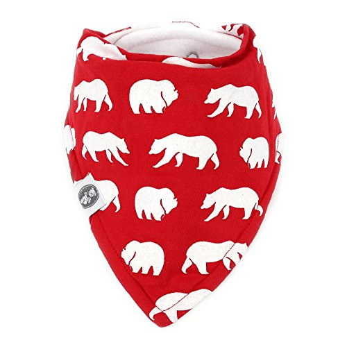 Baby Bandana Drool Bibs for Boys & Girls 12 Pack Forest Friends Set by Mumby by Mumby (Image #6)
