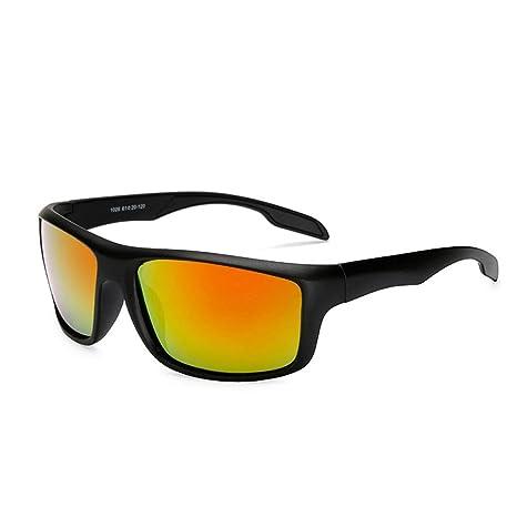 YHW-SUNGLASSES-0828 Gafas Deportes para Hombre Gafas de Sol ...