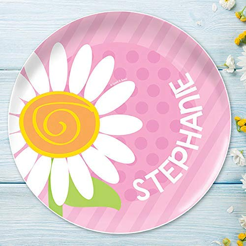 A Daisy For You Personalized Plate for Kids