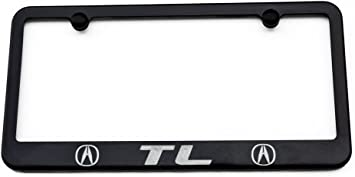 Honda Civic Si License Plate Frame USA Made Satin Black Engraved Aluminum