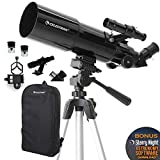 Celestron - 80mm Travel Scope - Portable Refractor...