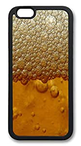 iphone 6 4.7inch Case Beer Froth Holiday TPU Custom iphone 6 4.7inch Case Cover black