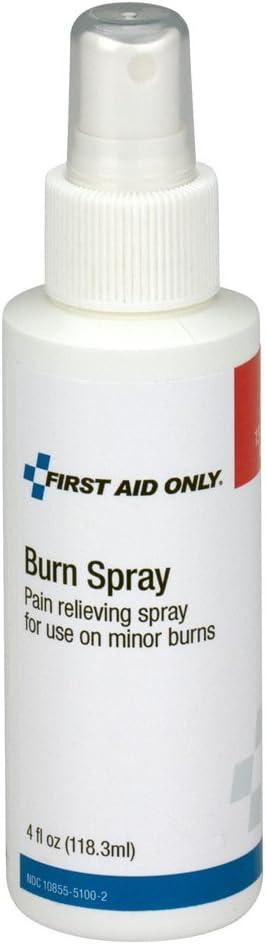 First Aid Only 13-040 First Aid Burn Spray, 4oz Pump Bottle: Industrial & Scientific