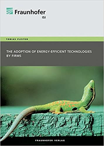 The adoption of energy-efficient technologies by firms