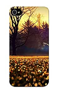 Premium [yomdma-4483-bbmluic]nature Fields Grass Wet Drops Trees Architecture Buildings Houses Sunrise Sunset Sky Morning Smoke Case For Iphone 5/5s With Design - Eco-friendly Packaging Kimberly Kurzendoerfer