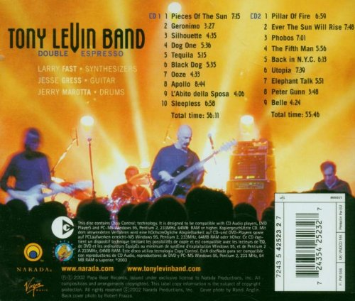 Double Espresso by Tony Levin Band