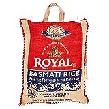 Royal Naturally Aromatic, Premium Aged Basmati Rice, 20 lb Product of India
