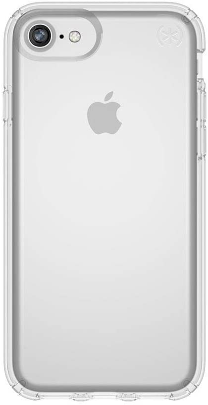 Speck Products Presidio Clear iPhone SE 2020 Case/iPhone 8 (Also fits 7/6S/6), Clear/Clear - 103110-5085