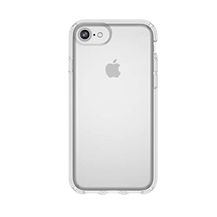c37822e4a2f Speck Products Presidio Clear Case for iPhone 8 (Also fits 7/6S/6),  Clear/Clear