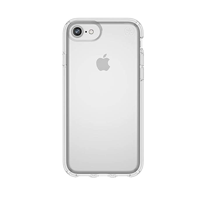 pretty nice 1727c ce695 Speck Products Presidio Clear Case for iPhone 8 (Also fits 7/6S/6),  Clear/Clear