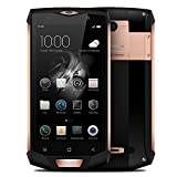 Original Blackview BV8000 Pro 4G Smartphone 5.0 inch FHD Long Duration IP68 WATER-PROOF Dustproof Dropproof MTK6757V Octa Core Android 7.0 6GB RAM 64GB ROM 16MP Waterproof IP68 Wifi GPS V(Gold edge)