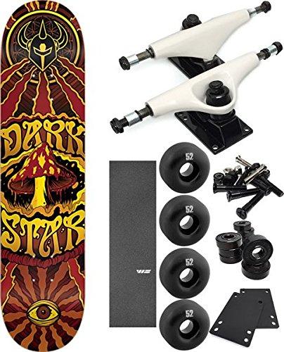 安価 DarkstarスケートボードTrippyスケートボード7.75