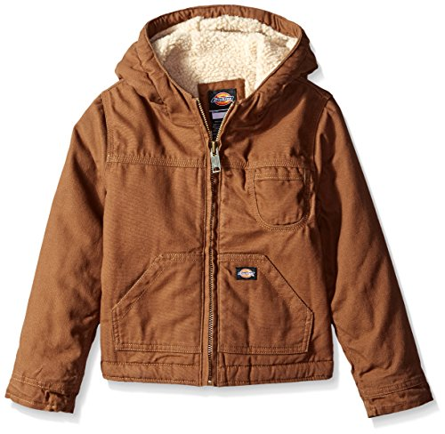 - Dickies Little Boys' Sherpa Lined Duck Jacket, Timber, Large (7)