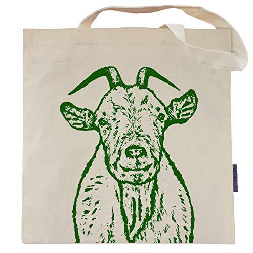 Walter the Goat Tote Bag by Pet Studio Art