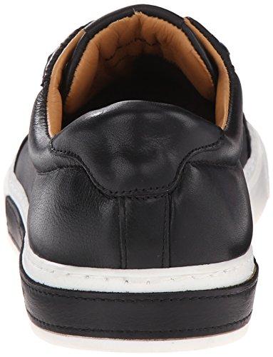 Sneaker Sebago Uomo Robinson Con Fibbia In Pelle Nera