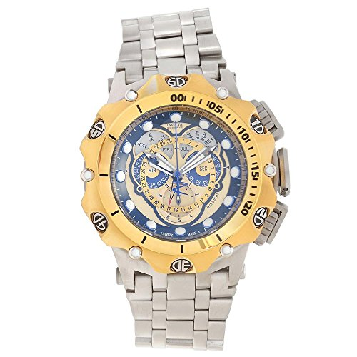 Invicta Men's 16807 Venom Quartz Chronograph Gold Dial Watch