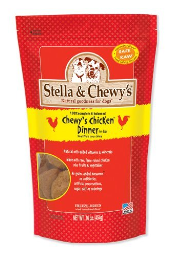 Cheap Stella & Chewy's Freeze-Dried Raw Chicken Dinner for Dogs, 16oz (Pack of 6)