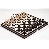 Prime Chess Pearl Wooden Chess and Draughts Set 35cm x 35cm …