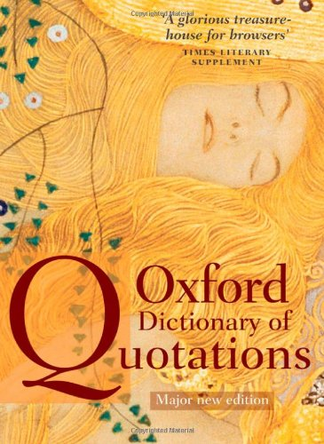 Oxford Dictionary of Quotations (Titanium Oxfords)
