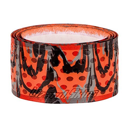 Camo Grips - Lizard Skins 5mm Camo Bat Grip, Orange Camo