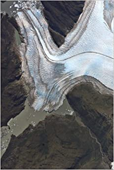 Book The Bernardo Glacier in the Southern Patagonian Ice Field, Chile: Blank 150 page lined journal for your thoughts, ideas, and inspiration