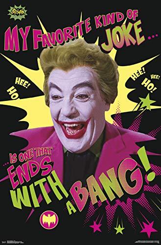 Trends International 1966 Batman-Joker Clip Bundle Wall Poster, 22.375