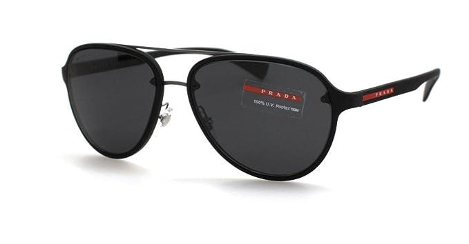 Prada Linea Rossa 0PS 52SS Gafas de sol, Black, 58 para ...
