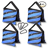 Emart Photography Heavy Duty Sandbag for Photo Video Studio Light Stands, Boom Stand (Set of 4)