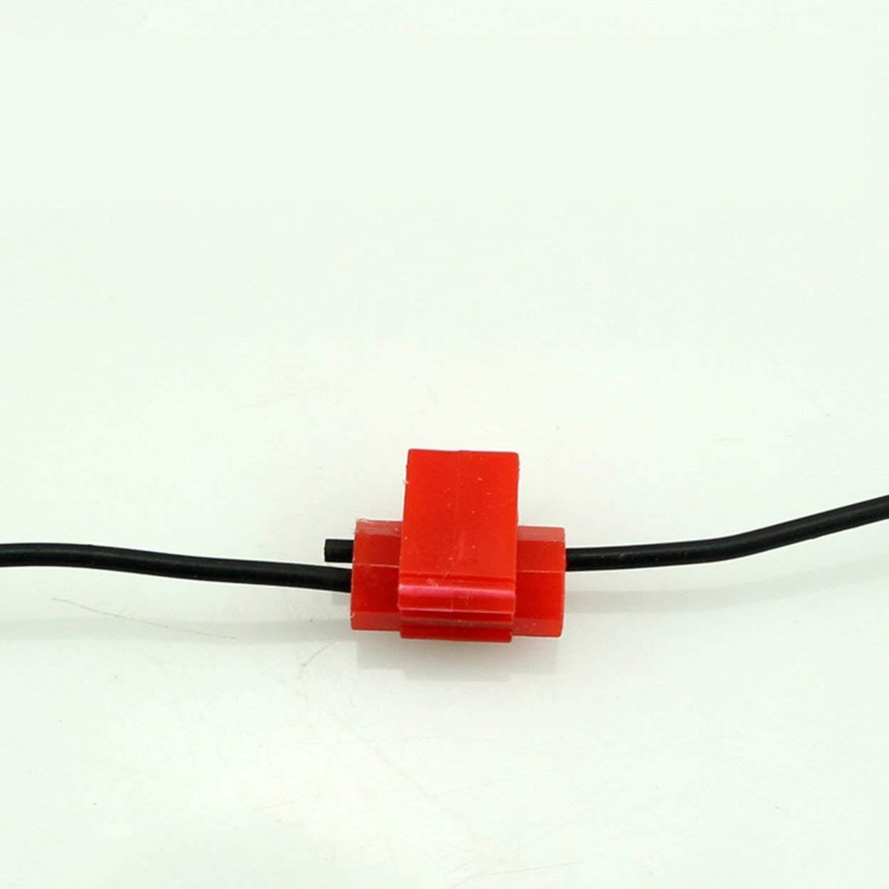 Lorenlli Terminales de Empalme r/ápidos de Conectores de Cable de Bloqueo escoc/és de 10 Piezas Crimp Electrical