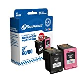 Dataproducts DPC64043 Remanufactured Ink Cartridge Replacement for HP #60 (Combo Pack - Black & Tri-Color)