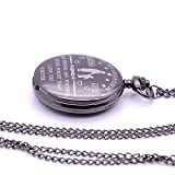 Engraved Pocket Watch Unique Gift Idea to My son