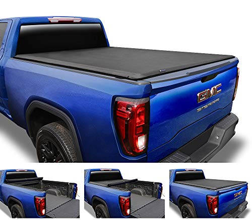 2013 Cover - Tyger Auto T1 Roll Up Truck Tonneau Cover TG-BC1C9003 Works with 2007-2013 Chevy Silverado/GMC Sierra 1500 (Excl. 2007 Classic) | Fleetside 5.8' Bed