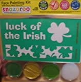 Snazaroo St. Patrick's Day Face Painting Stencil Kits (3 Colors)