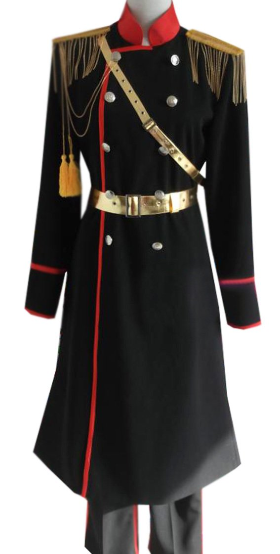 Dreamcosplay Anime Hetalia: Axis Powers Russia Black Military Uniform Cosplay