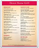 StoreSMART - Rigid Plastic Menu - 8.5'' x 11'' - 50-Pack - HPP812X11-MENU-50