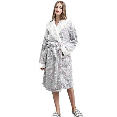 Flannel Womens Bathrobe 2eeb019c6