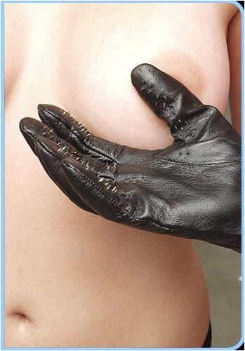 Vampire Gloves Leather Large