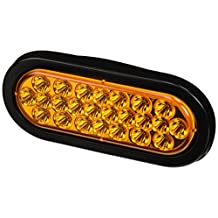 Buyers Products SL65AO Amber Oval LED Strobe Light (6.5in OVAL)