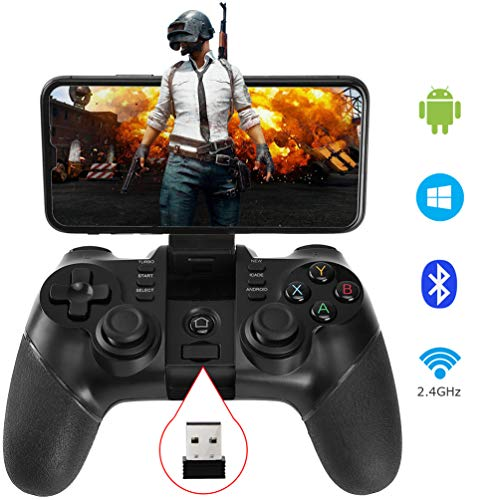 allcaca Bluetooth Game Controller Wireless Gamepad Rechargea...