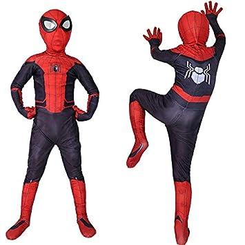 ZYFDFZ Traje de Cosplay de Spider-Man para niños Traje ...