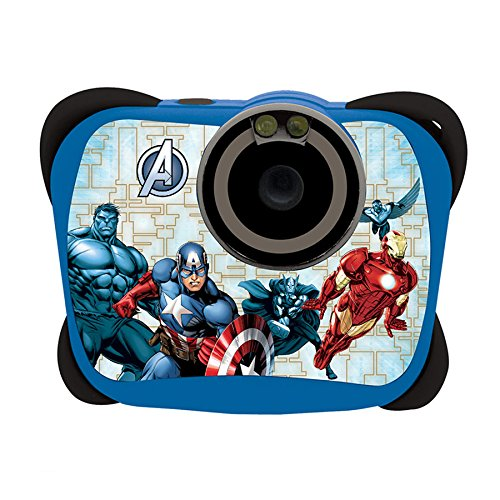 Lexibook - DJ135AV - Appareil photo Numérique 5MP Avengers Appareils photo numériques appareil photo enfant mon premier appareil photo marvel