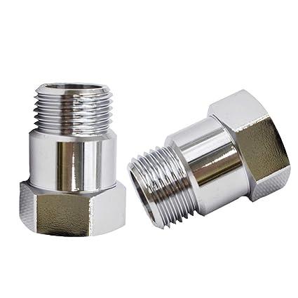 2* Straight O2 Oxygen Sensor Extension Spacer 45mm extender Adapter M18X1.5 CEL