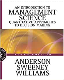 introduction to management science 10th taylor chapter 5 Find all the study resources for introduction to management science by david r anderson dennis j sweeney thomas a williams  ms14e chapter 10 final .