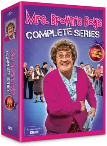 Mrs Brown's Boys: The Complete Series Box Set (DVD, 8-Disc Set)