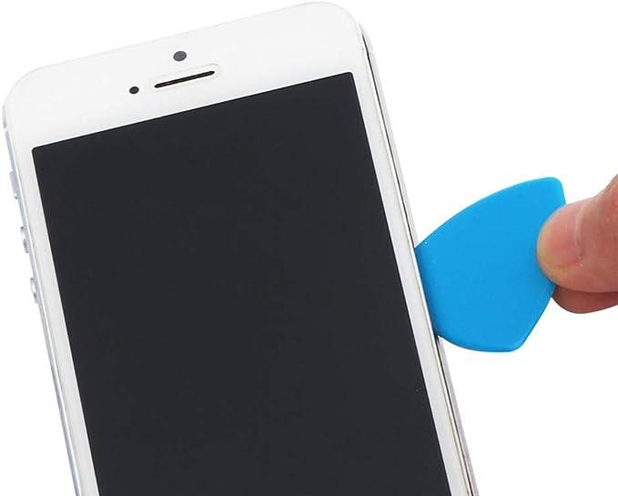 10 púas de plástico ultrafinas para guitarra, para iPhone, Samsung ...
